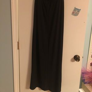Trixxi Dresses - Black strapless maxi dress